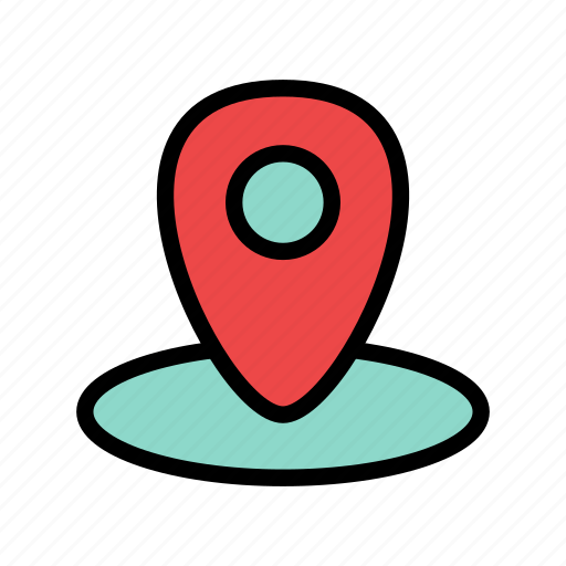 geo, location, map, navigation, pin icon