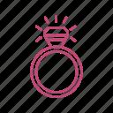diamond, love, ring, wedding