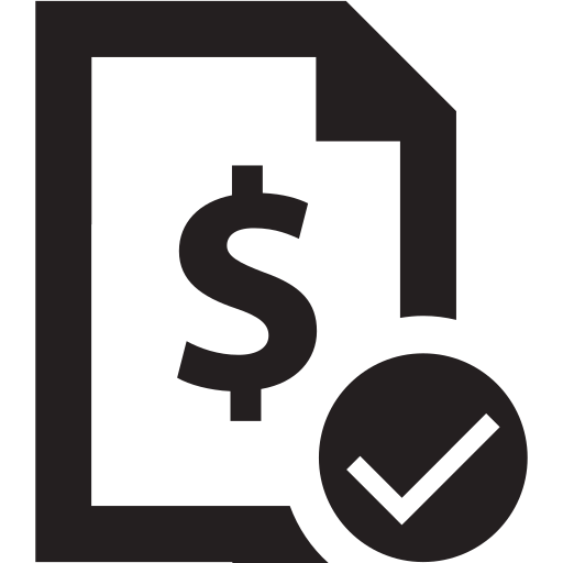 bill, cash, invoice, money, pay, payment, receipt icon