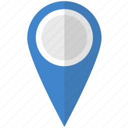 direction, gps, location, map, navigation, pin, pointer icon