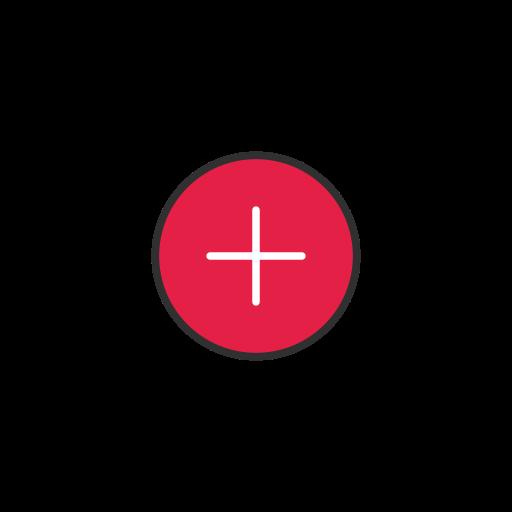 add, create, create board, pinterest icon