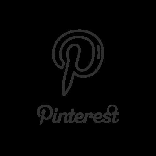 brand, label, logo, pinterest icon