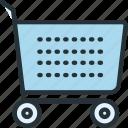 cart, commerce, e, shopping