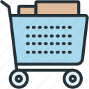 cart, commerce, delivery, e