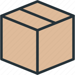 box, commerce, delivery, e icon