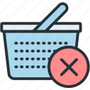basket, buy, commerce, e