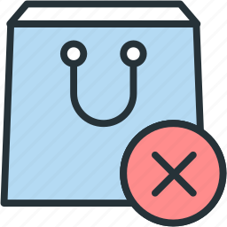 buy, close, commerce, e, package, purchase icon