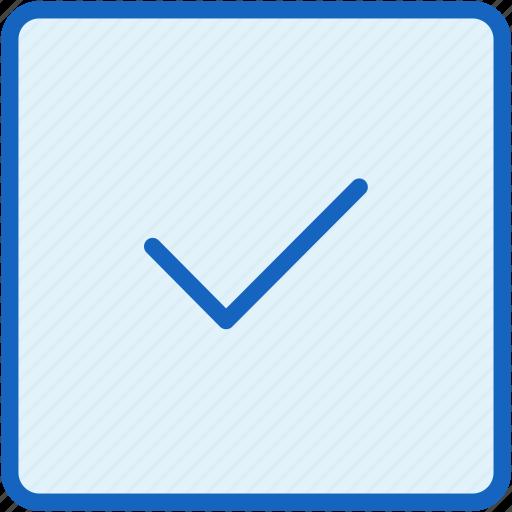 check, interface, vote icon