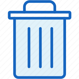 clean, interface, trash icon