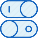 interface, switch, toogle icon