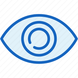 details, eye, interface, view icon