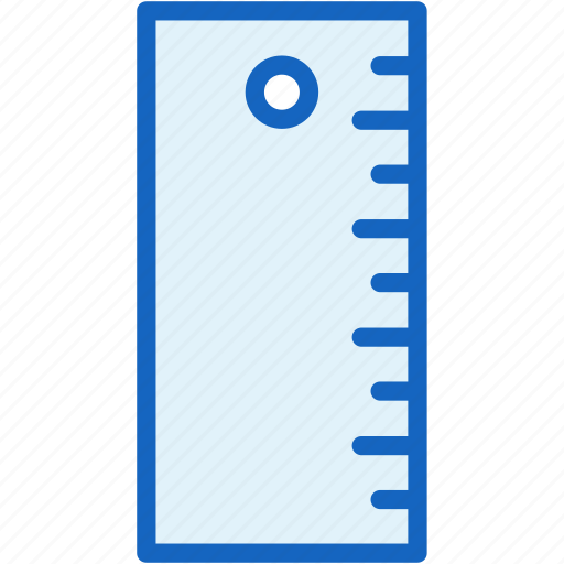 interface, linear, ruler icon