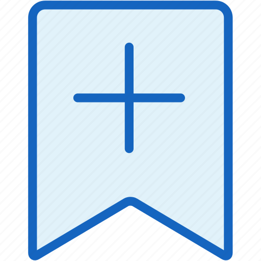 banner, interface, label, mark, plus icon