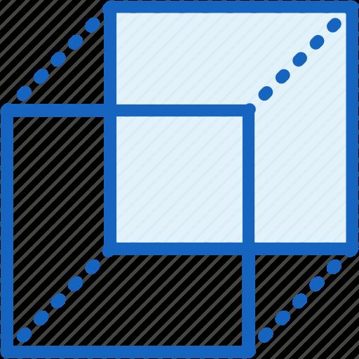 cube, figure, interface, shape icon