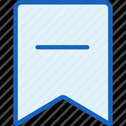 interface, label, mark, minus icon