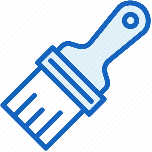 brush, color, interface, paint icon