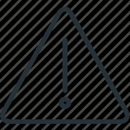 attention, error, interface, warning icon