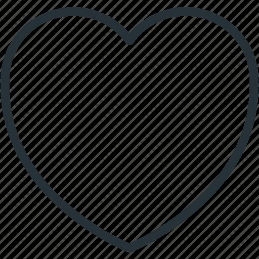 good, heart, interface, like, nice icon