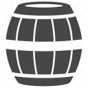 barrel, bucket, cask, container, oil, tank, wine icon