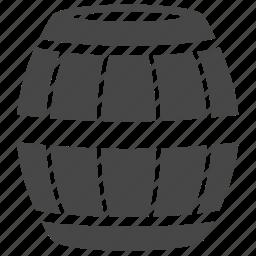 barrel, bucket, cask, container, oil, tank, wine icon
