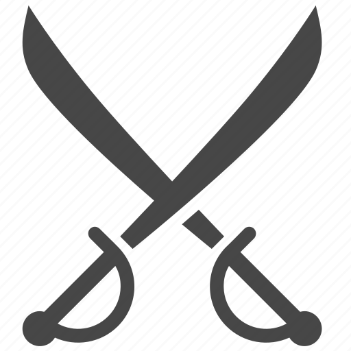 blade, cross swords, military, pirate, sword, war, weapon icon