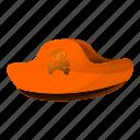 face, hat, piracy, pirate, retro, skull