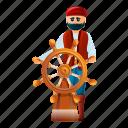nature, pirate, ship, steering, vintage, wheel