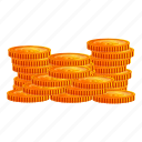business, coins, gold, pirate, vintage