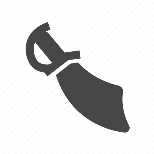 blade, pirate, sword, weapon icon