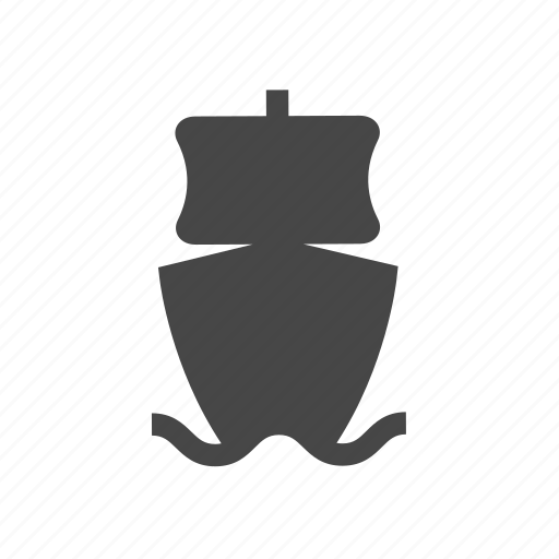 pirate, sea, ship icon