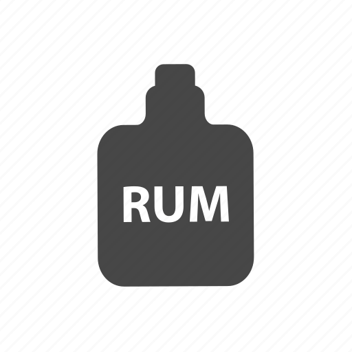 adventure, bottle, ocean, pirate, rum icon