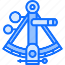 bandit, location, navigation, pirate, pirates, sailing, sextant icon