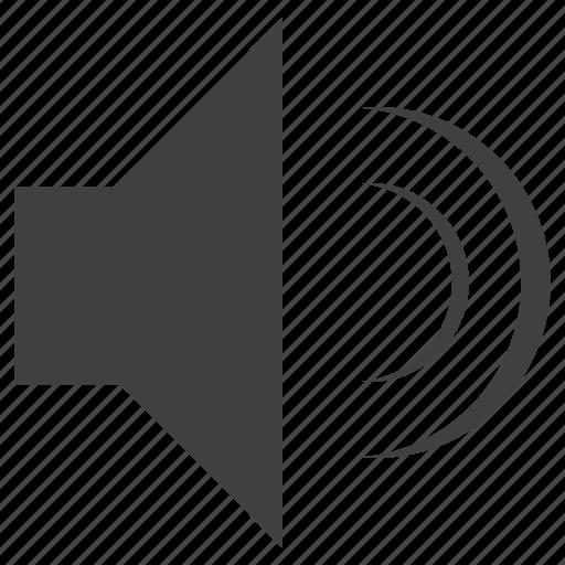 audio, control, medium, volume icon