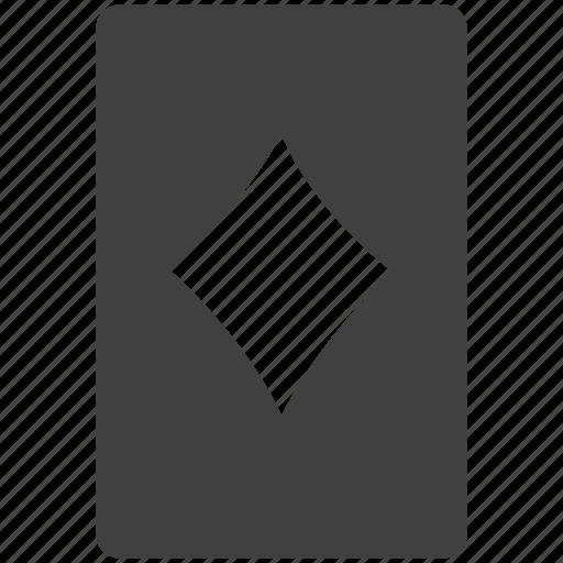 card, diamonds, playcard, solitarie icon