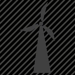 air, energy, wind, wind power, wind trubine icon