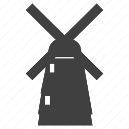 air, energy, strong windmill, wind icon