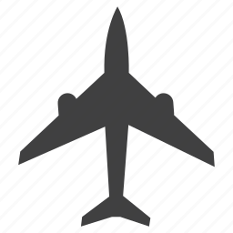 airoplan, airport, plane, sign icon