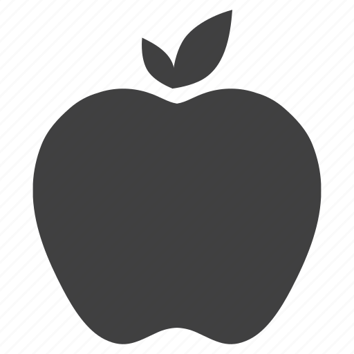 apple, fruit, heart, i pad icon