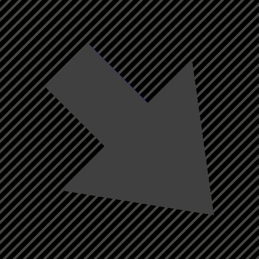 arrow, forward, increase, right icon