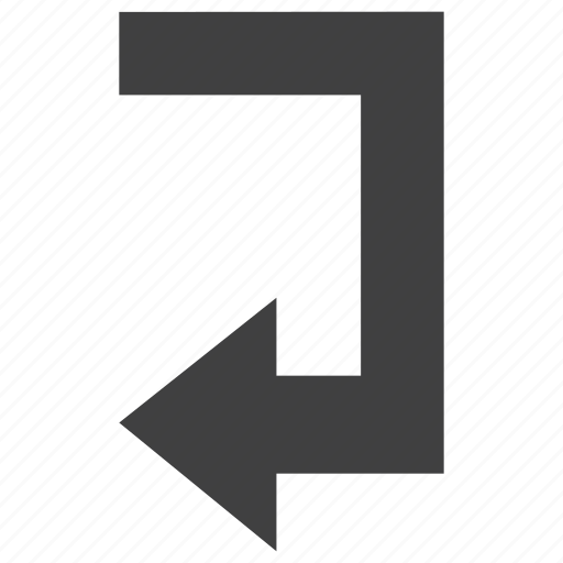 arrow, back, backward, left, next, return, reverse, sign icon