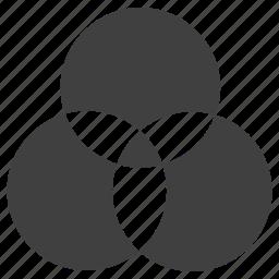 rgb, triskel icon
