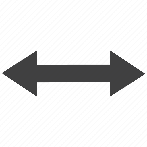arrow, left, rightleft, two way icon