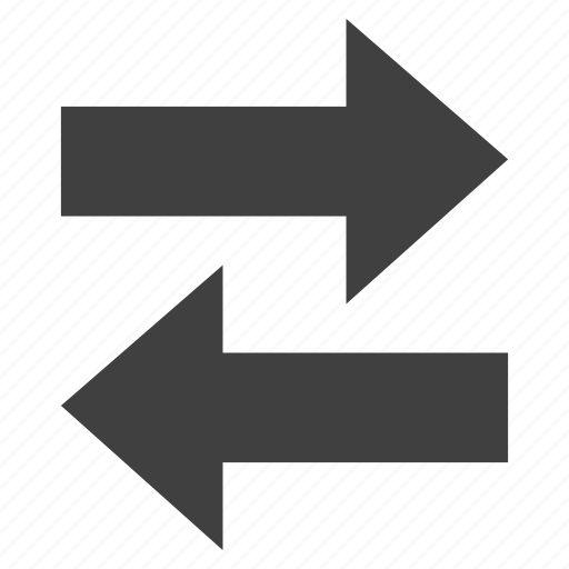 arrows, left, right left, two way icon