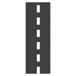 divider, intersection, path, road, roadways icon