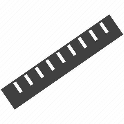 measure, measurement, ruler, scale icon