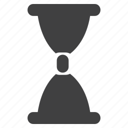 hourglass, sand, sandclock, watch icon