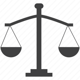balance, measurement, scales, weighing scale icon