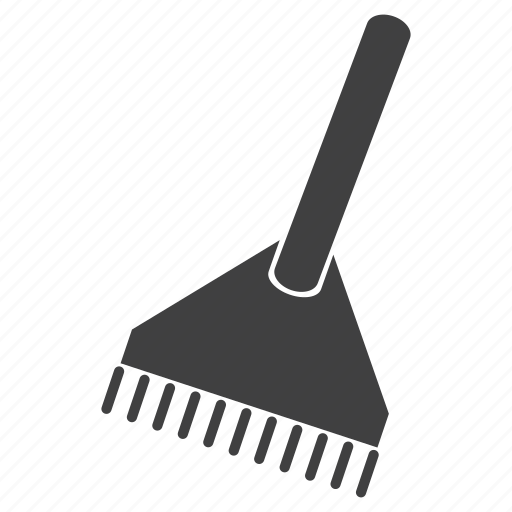 brush, cleaning icon
