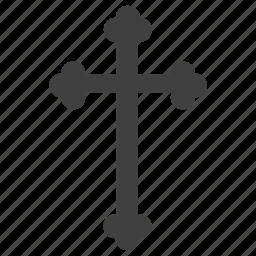 christian cross, cross, crucify, motif cross icon