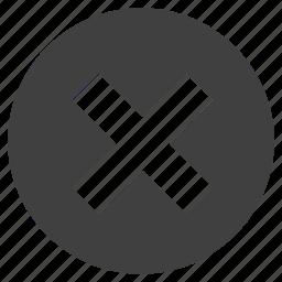 cross, mark, math, multiplication, sign, unit icon